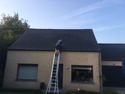 uitbreiding bestaand dak Lokeren