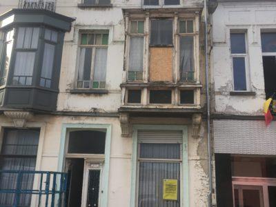 vervanging ramen door nieuwe houten ramen in afzelia